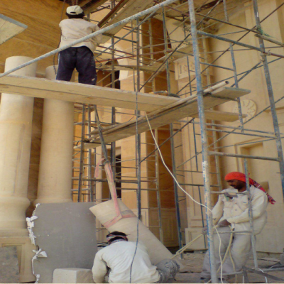 Column Fixing